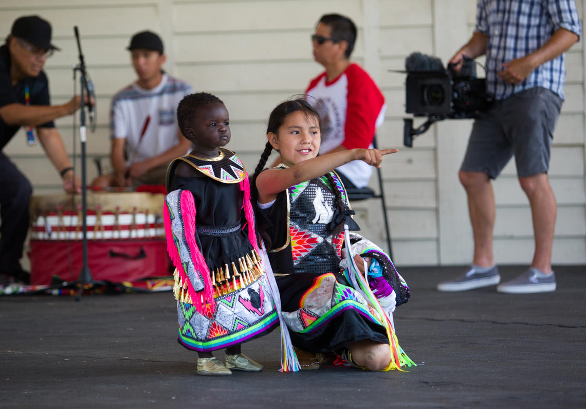 The third annual Campfire Chats took place June 21, on National Indigenous Peoples Day. Activities included teepee painting, drumming and dancing, and an evening campfire chat.