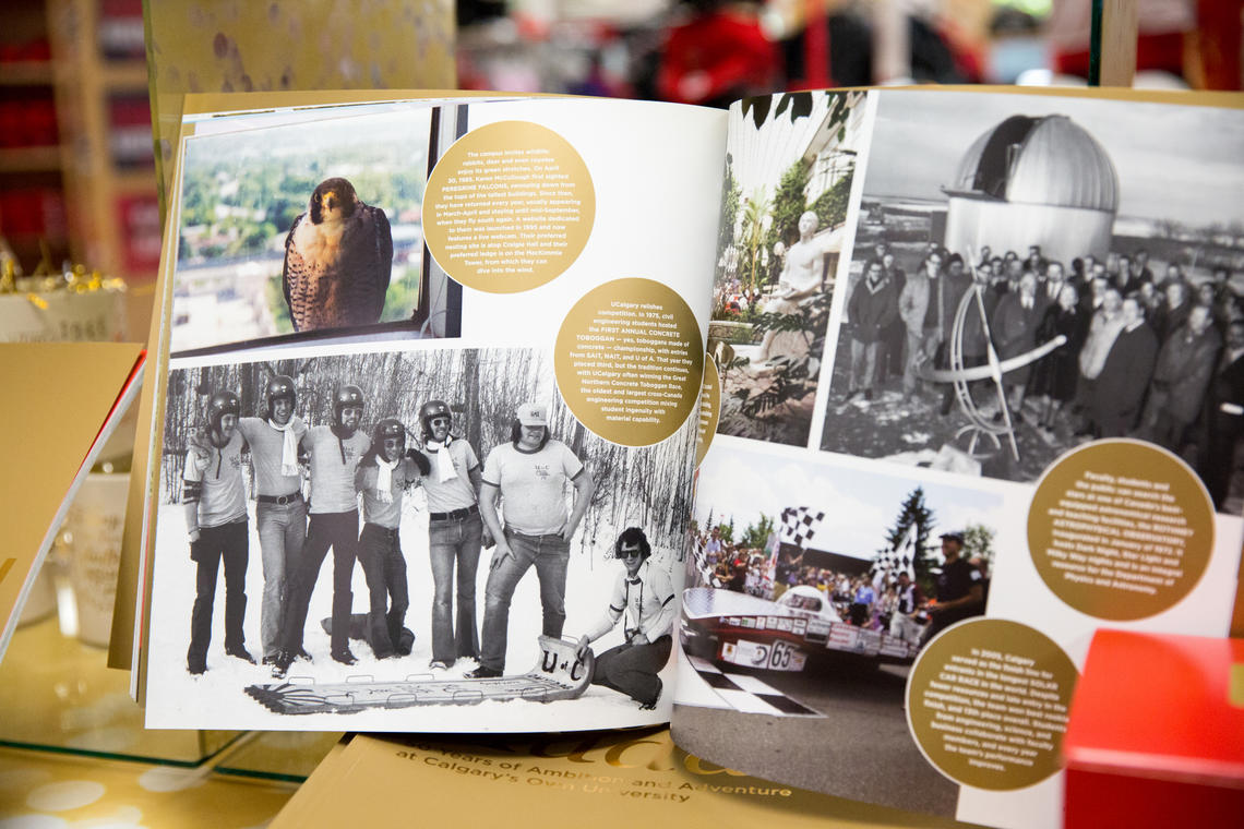 A look inside the 50th Anniversary commemorative book.
