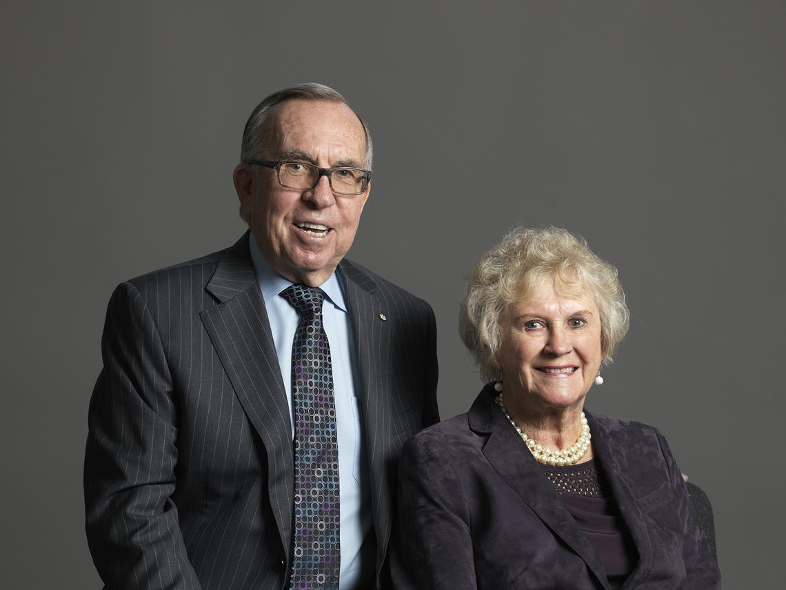 The newly established Richard and Lois Haskayne Legacy Scholarship is the largest and most prestigious scholarship at the Haskayne School of Business, offering a full-ride scholarship to one undergraduate student a year for the next five years.